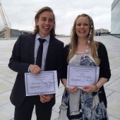 Stine got the Jury`s First Prize at LidalNorth Song Competition