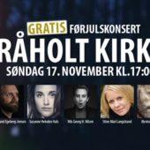 Førjulskonsert i Råholt Kirke