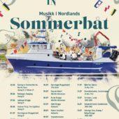 TrioGnist konserter ombord på Musikk i Nordlands Sommerbåt